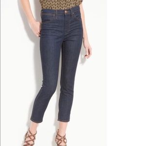 J Brand Pure Kori High Rise Crop Ankle Jeans